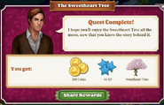Quest The Sweetheart Tree-Rewards