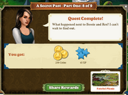 Quest A Secret Past 8-Rewards