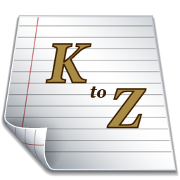 Index page k-z