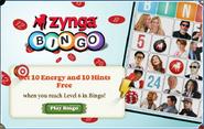 Zynga Crosspromotion Bingo