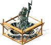 Freeitem Zeus Statue-construction