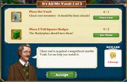 Quest It's All My Vault 1-Tasks