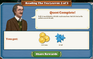 Quest Reading The Tea Leaves 2 Complete-Screenshot