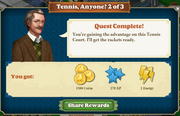 Quest Tennis, Anyone? 2-Rewards