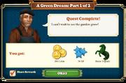 Quest A Green Dream Part 1-Rewards