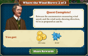 Quest When The Wind Blows 2-Rewards