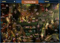 Scene Voodoo Shop-Map