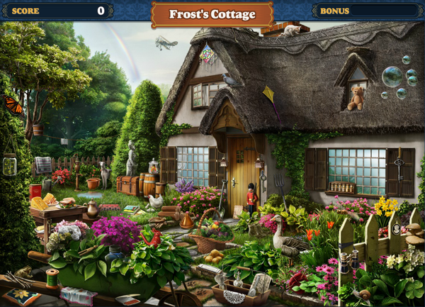 Scene Frost's Cottage-Screenshot