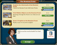 Quest The Russian Front-Tasks