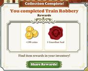 Collection Train Robbery-Reward