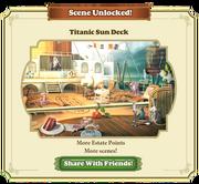 Scene Unlocked Titanic Sun Deck
