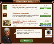 Quest Geoffrey's Safe Room 4-Tasks