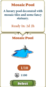 Questitem Mosaic Pool-info