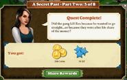 Quest A Secret Past-Part Two 5 of 8-Rewards