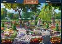 Scene Central Park-Map