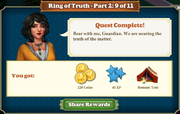 Quest Ring of Truth-Part Two 9-Rewards