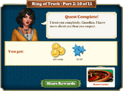 Quest Ring of Truth-Part Two 10-Rewards