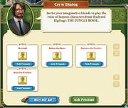 Quest Kipling's Tiger 3 Jungle Book Crew