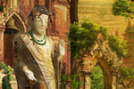 Scene Bagan Temple-icon
