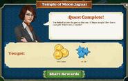 Quest Temple of Moon Jaguar-Rewards
