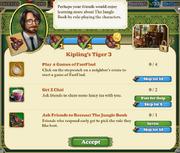 Quest Kipling's Tiger 3-Tasks