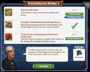 Quest Rebuilding the Bridge 4-Tasks