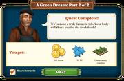 Quest A Green Dream Part 2-Rewards