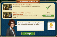 Quest The Voodoo That You Do-Tasks