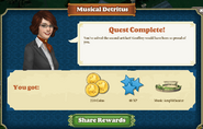 Quest Musical Detritus-Rewards