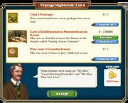 Quest Vintage Nightclub 2-Tasks