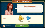 Quest Party Time 2-Rewards