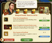 Quest Ring of Truth Episode-Part One 4-Tasks