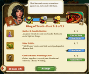 Quest Ring of Truth-Part Two 9-Tasks