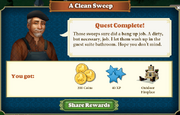 Quest A Clean Sweep-Rewards
