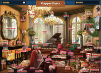 Scene Flapper Party-Map