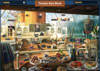 Scene Titanic Sun Deck-Map