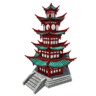 Questitem Turquoise Pagoda-icon
