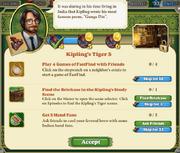 Quest Kipling's Tiger 5-Tasks