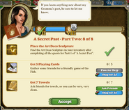 Quest A Secret Past Part Two 8 of 8-Tasks