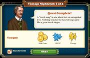 Quest Vintage Nightclub 1-Rewards