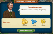 Quest Groovin'Gazebo 2-Rewards
