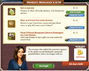 Quest Mother's Memories 4-Tasks