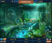 Scene Sunken Lion-Screenshot