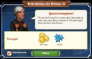 Quest Rebuilding the Bridge 11-Rewards