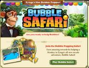 Zynga Crosspromotion Bubble Safari