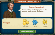 Quest Turquoise Pagoda 2-Rewards