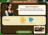 Quest A Secret Past-Part Two 3 of 8-Rewards