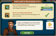Quest Innovation in Decoration 3-Tasks
