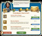Quest Twin Hearts Part Three 2-Tasks