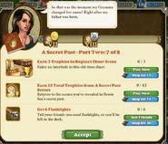A secret past part two 7 of 8 tasks